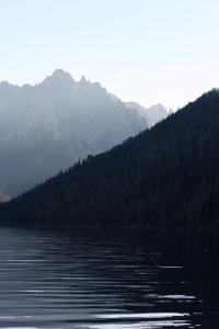 redfish lake sawtooth mountains idaho